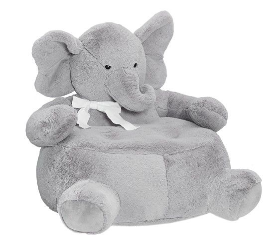 elephant critter chair pottery barn kids nursery