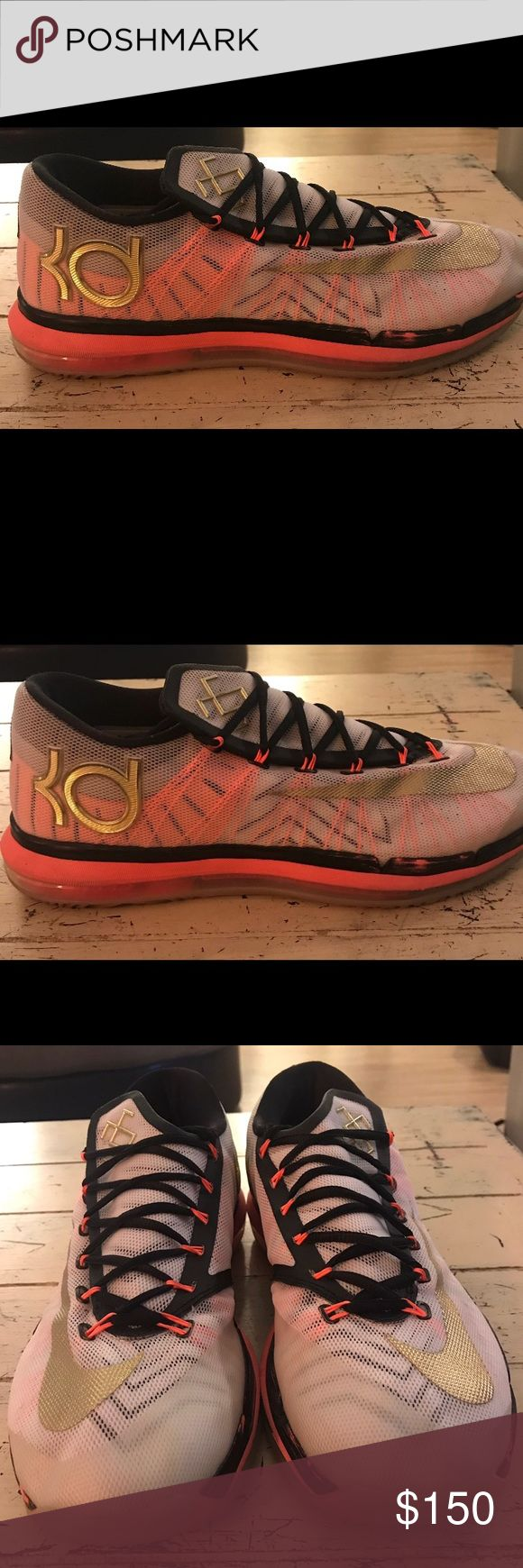 Nike KD 6 elite Kevin Durant  Size 12 barely worn Nike Shoes Sneakers