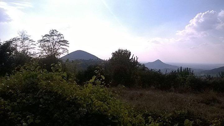 Vista dal Monte Orbieso a Valsanzibio