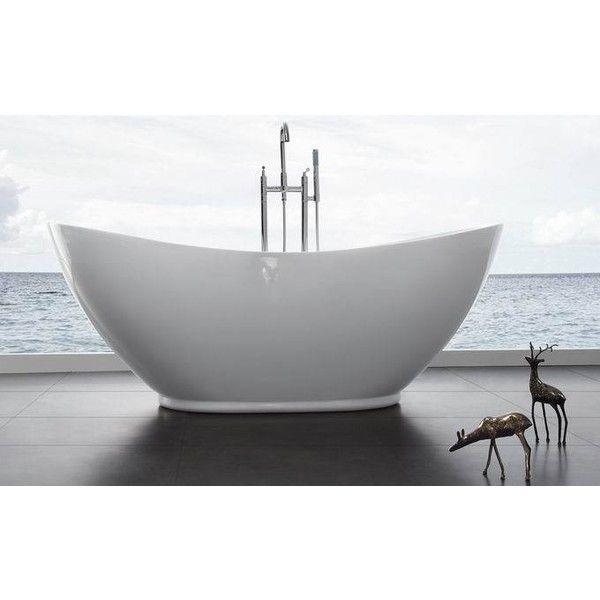 Modern Bathtub, Bathtubs, Orlando, Acrylics, Van, Polyvore, Outlets, Tubs,  Orlando Florida