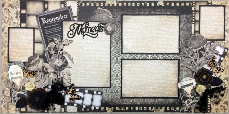 "Layout kit made with Kaisercraft's ""Art of Life's"" line."