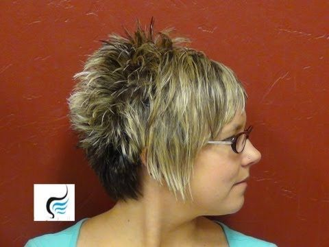 how to cut womens hair // short pixie assymetrical aline