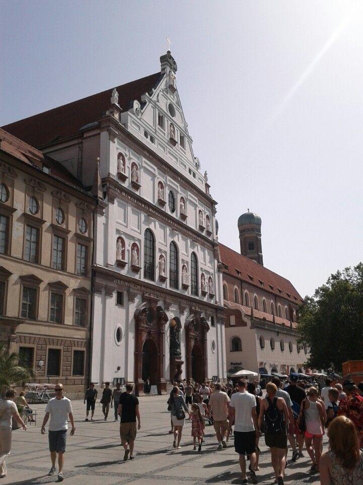 Jesuitenkirche St. Michael in München, Bayern