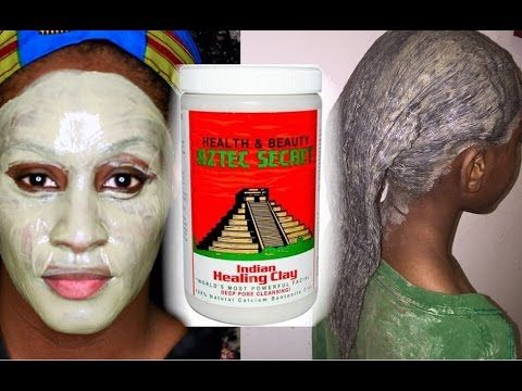 Aztec Secret Indian Bentonite Clay Review and Demo on Natural Hair and Skin | Shlinda1 - YouTube