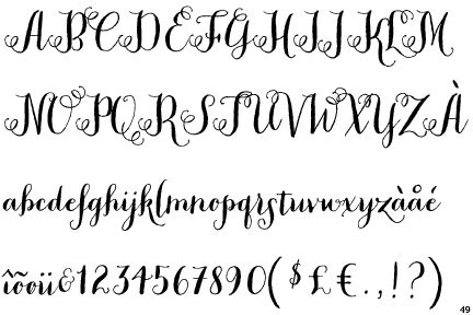 Peoni pro font alphabet google search chalkboard art for Flowy tattoo fonts