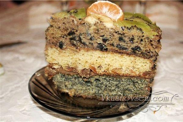 Королевский торт - Торты - Рецепты - Вкусные рецепты на каждый день