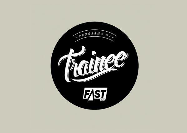 Logotipo Programa de Trainee Fast Shop by Marco Bernardes, via Behance