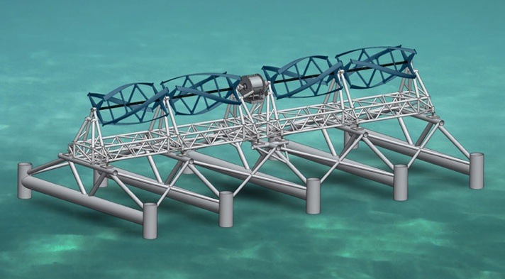 The first grid-ready tidal power turbine in U.S.