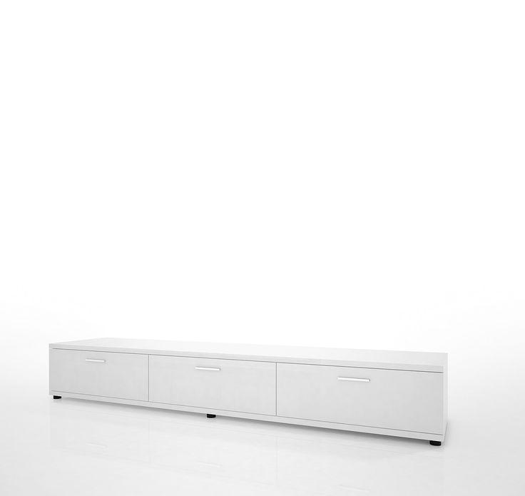Lowboard Weiss Hochglanz Woody 41-00132 Holz Modern Jetzt bestellen unter: https://moebel.ladendirekt.de/wohnzimmer/schraenke/lowboards/?uid=8d3397cc-a9ec-5dbf-837a-d1f09faa49b0&utm_source=pinterest&utm_medium=pin&utm_campaign=boards #schraenke #lowboards #wohnzimmer