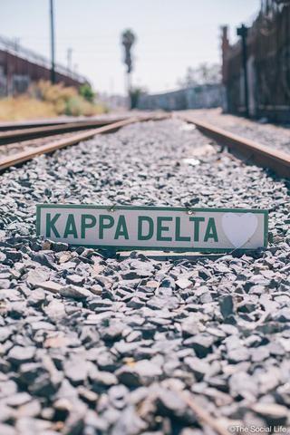 Kappa Delta Vintage Sign