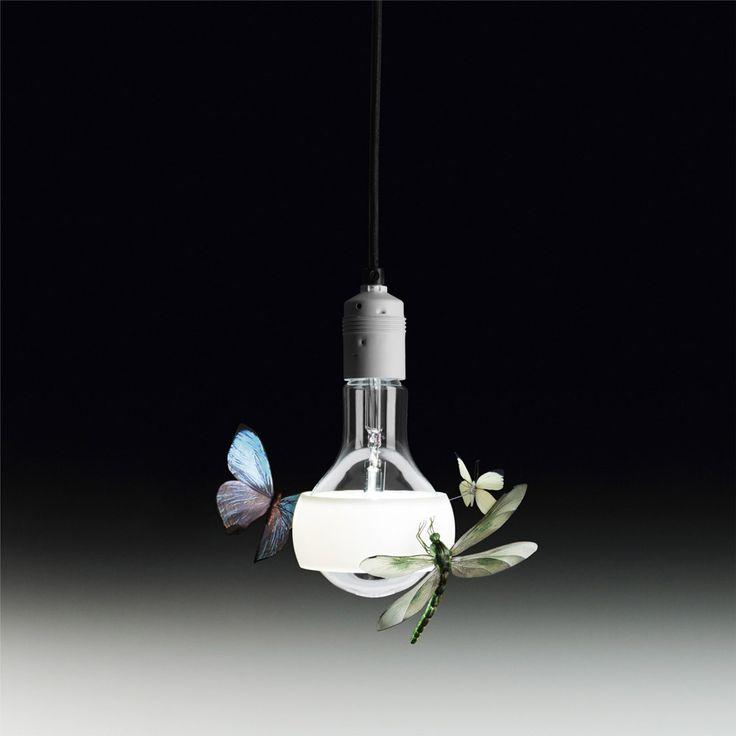 Ingo Maurer - Lampada Johnny B. Butterfly | Design: Dessecker B. - Maurer I. | Anno: 2011 | Materiali: Teflon e vetro | #design #lamp #butterfly | http://illuminazione.webmobili.it/