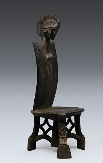 Africa | Chair from the Luguru people of Tanzania | Wood