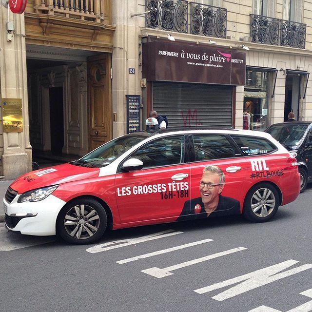 """#RTLBouge avec Laurent Ruquier et ses """"Grosses Têtes"""" #rtl #Taxi #LaurentRuquier #GrossesTetes by rtl_france"""