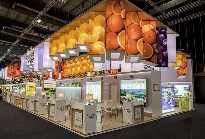 xodio: laboratorio de diseño (Fruit Logística (versión final): Propuesta...)#stands #exhibition #design