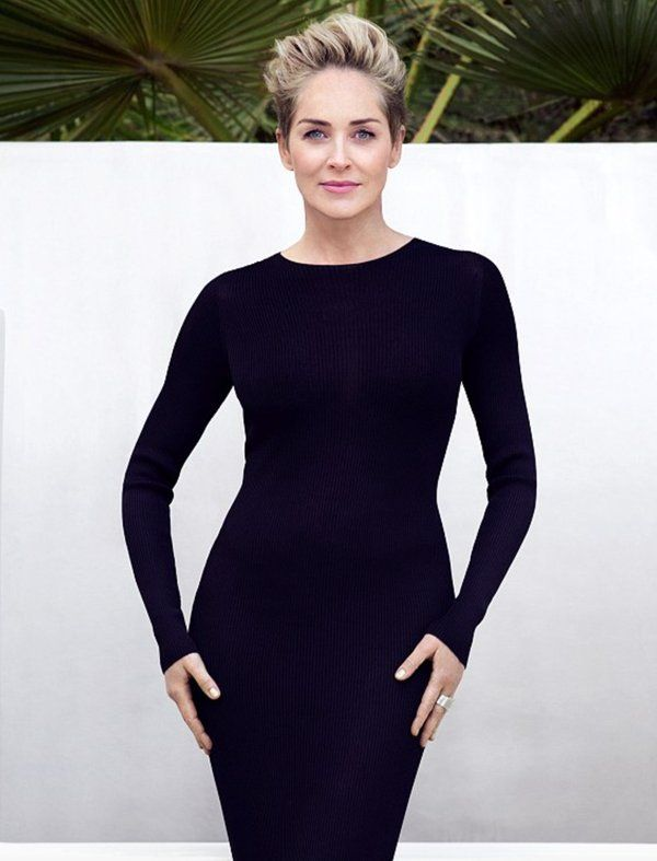 Sharon Stone , beautiful as ever @ 58 years of age