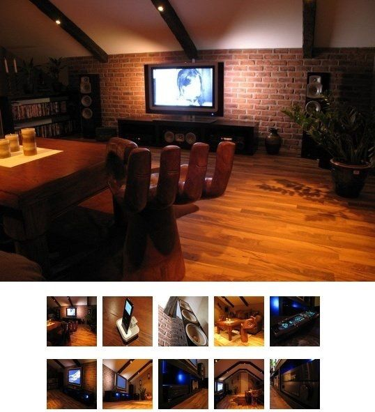27 Cool Basement Home Theater Ready To Entertain: 17 Best Ideas About Attic Media Room On Pinterest