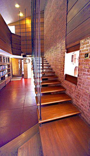 Glore House. 1951. Lake Forest, Illinois. Usonian. Frank Lloyd Wright