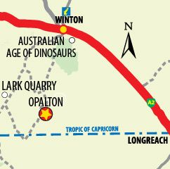 Opalton Location