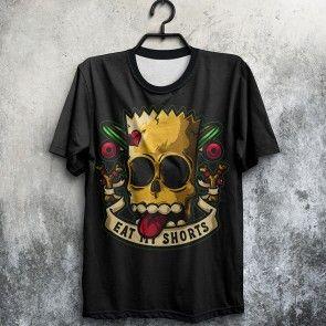 Camiseta Simpsons Bart Tatoo