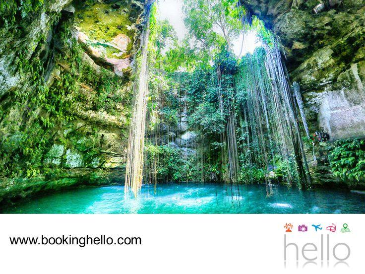 VIAJES PARA JUBILADOS. Aunque el estado de Yucatán es el que cuenta con la extensión más grande de cenotes, con un aproximado de 10 mil distribuidos a lo largo de su territorio, en Quintana Roo también se puede disfrutar de estos atractivos naturales de agua cristalina que en la cultura maya, se consideraban la entrada al inframundo. En Booking Hello te recomendamos visitar los cenotes del Caribe mexicano, una experiencia que te sorprenderá. #viajesparajubilados