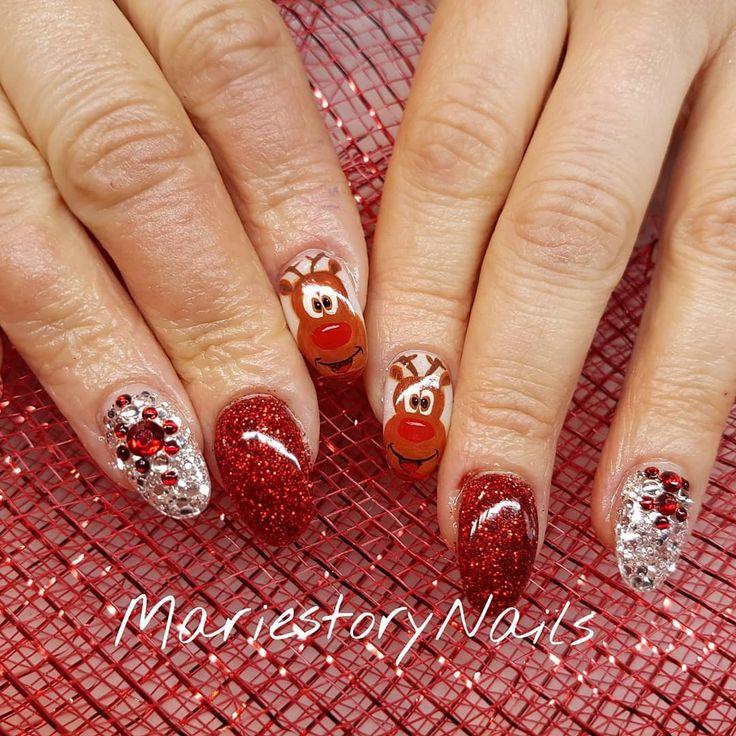 26 mentions J'aime, 2 commentaires – MariestoryNails (@mariestorynails) sur Instagram : «#christmasnail #lednails #nailart #nails #nailartoohlala #nailartoftheday #nailofinstagram…»