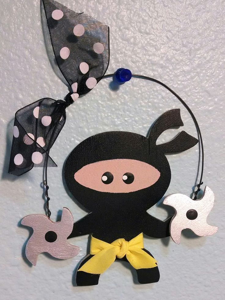 A personal favorite from my Etsy shop https://www.etsy.com/listing/187845373/ninja-christmas-ornament