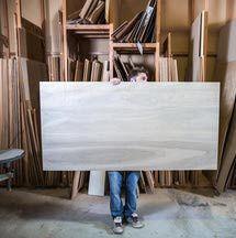 Identifying plywood sizes.
