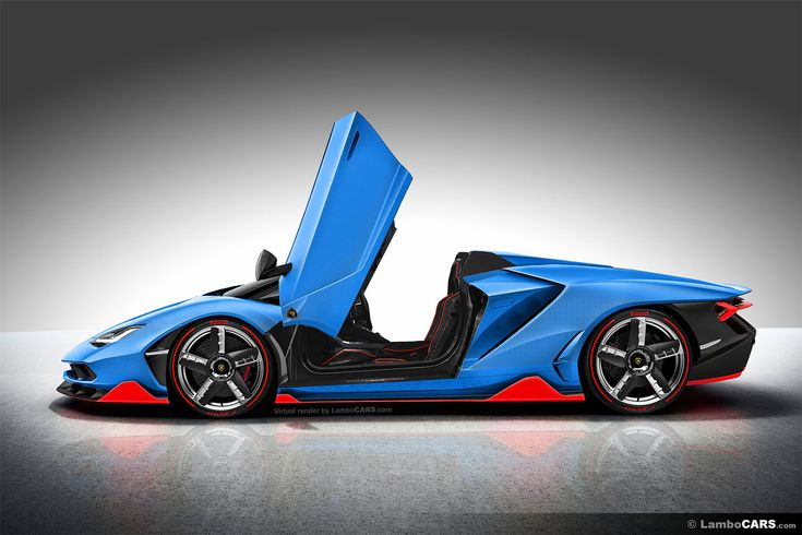Lamborghini Centenario LP770-4 Roadster version