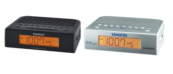 Sangean RCR-5 Digital AM/FM Clock Radio | The Listening Post Christchurch and Wellington