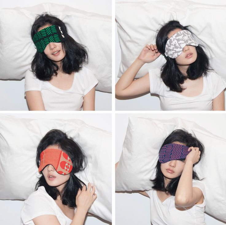 eye mask_made from defective socks