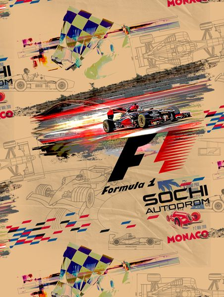 Rapport design Formula 1 - www.surfacesdesign.ru