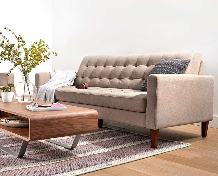 Scandinavian Designs   The Laura Sofa Offers Traditional Aesthetics And  Contemporary Lines To Pull A Room Together. Touch The Finest Upholstery At  A Dania ...