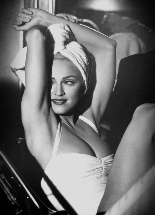 Madonna being fabulous