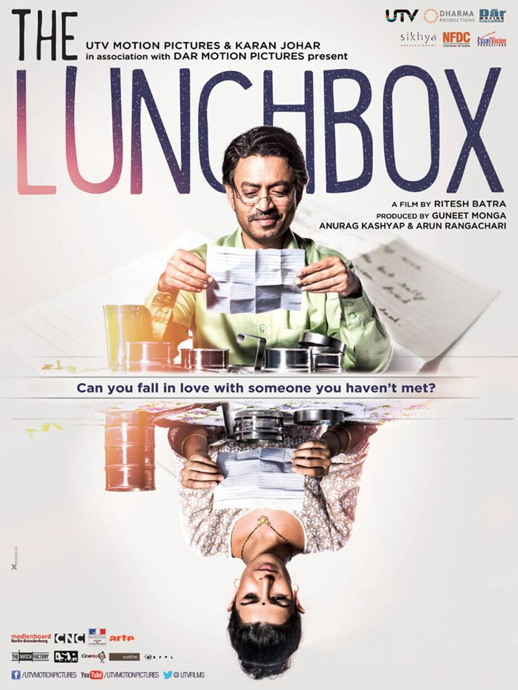 The Lunchbox / Dabba (2013) ... A mistaken delivery in Mumbai's famously efficient lunchbox delivery system connects a young housewife to an older man in the dusk of his life as they build a fantasy world together through notes in the lunchbox. (21-Oct-2015)