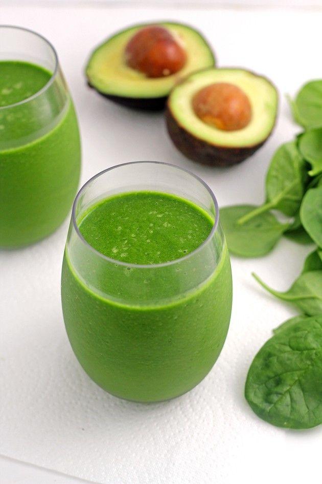 Avocado Green Smoothie Vertical