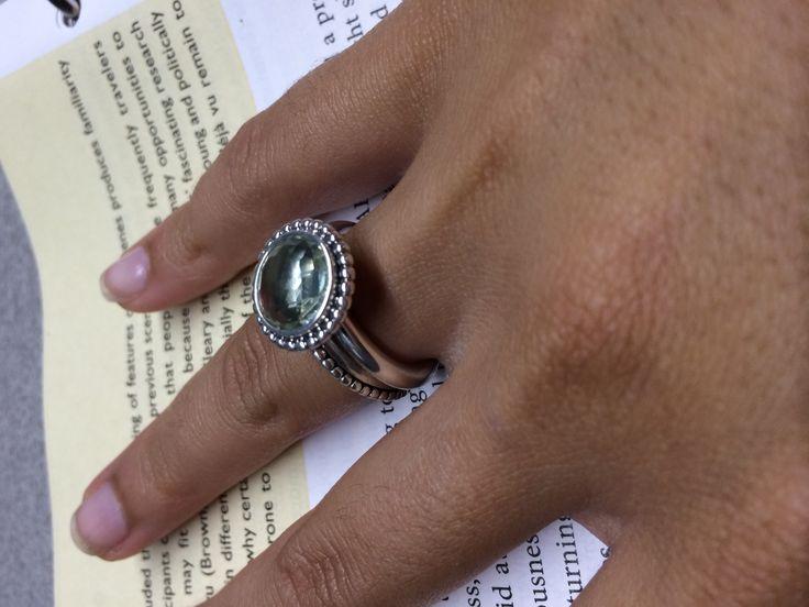 Pandora Ring Stacked