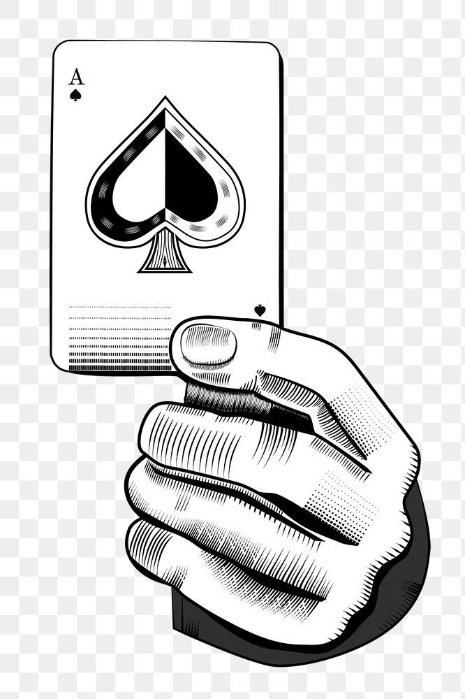 Hand Png Holding Spade Ace Card Free Image By Rawpixel Com Busbus Ace Card Web Design Resources Holding Space