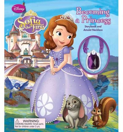 Sofia has just become a Disney Princess and has lots to learn. Good thing she has experienced princesses like Cinderella, Snow White, and Ariel to help her! Girls can get to know the newest little Disney Princess in this storybook that comes with a beautiful necklace. Full color. Consumable.