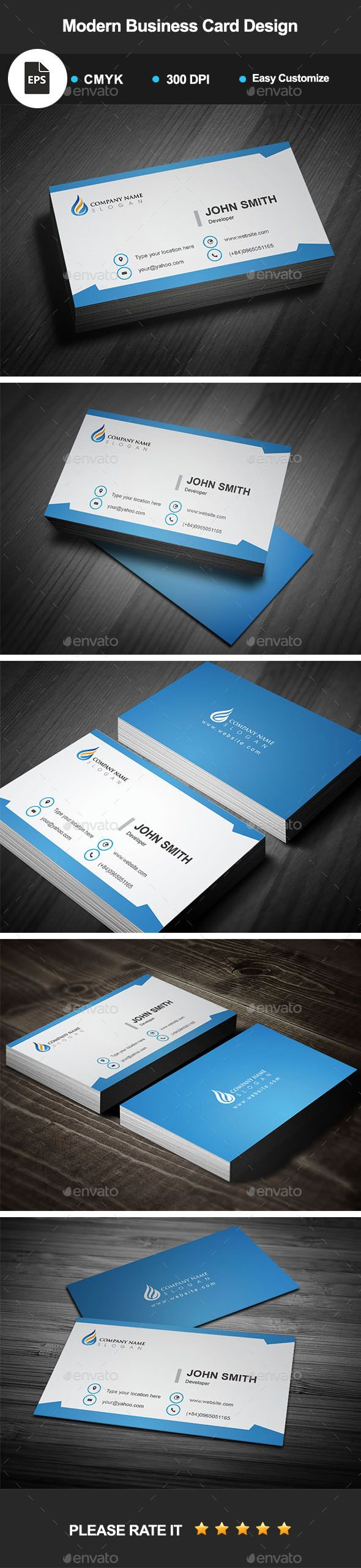 The 25+ best Modern business cards ideas on Pinterest | Free ...