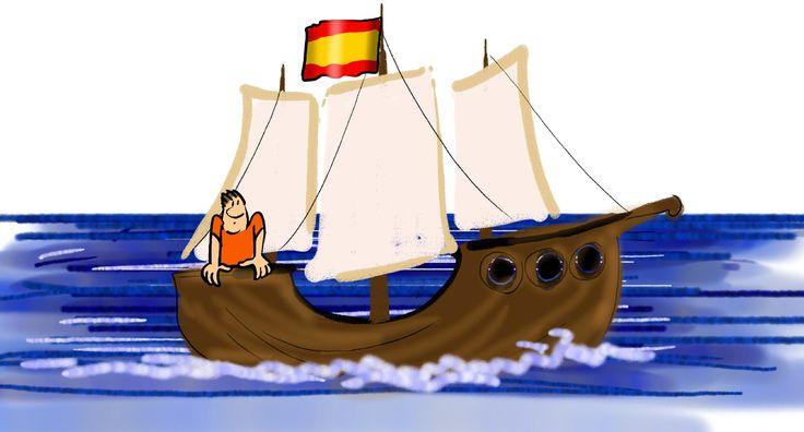 Jonas   Schiff auf dem Meer