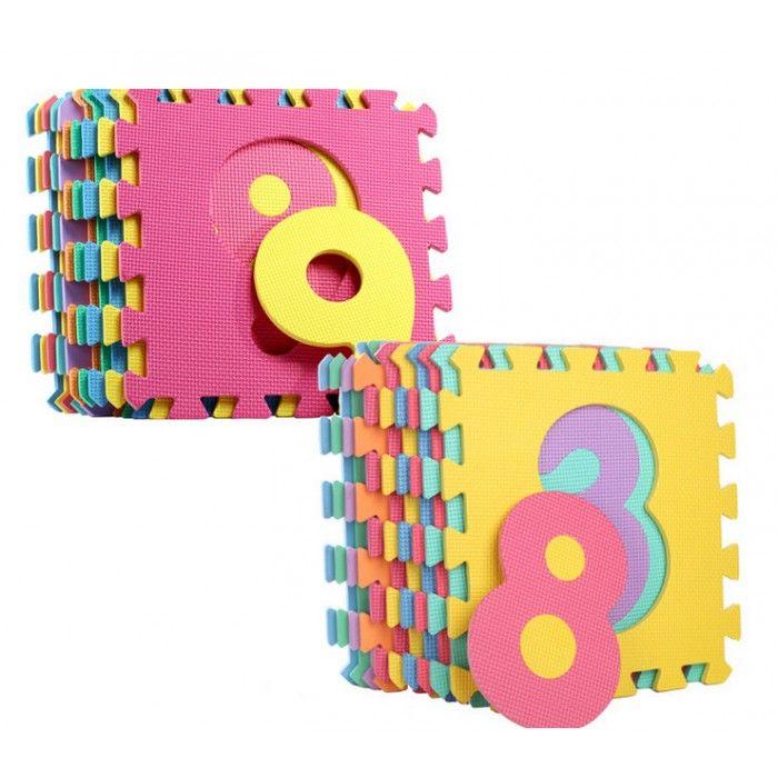 Speelmatten puzzel 86-delig - EVA foam met Alfabet en Nummers