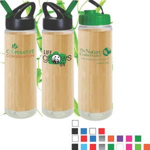 Bamboo Wrapped Bottle from http://www.schoolspiritstore.com/school-supplies-and-fun-stuff/plant-a-tree-cards/