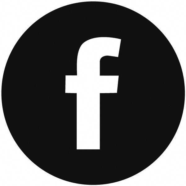Vector Facebook Icon Round Black And White Circle Vector Facebook Icon Webdesign Socialmedia Download Desain Pamflet Aplikasi Desain