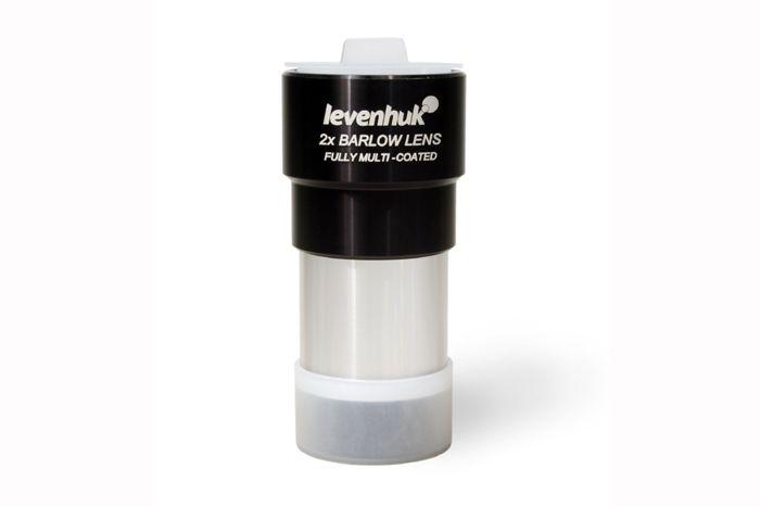 """Barlowova čočka Levenhuk 2x: Zvětšení: 2x. Průměr tubusu: 1.25""""  #levenhuk #barlowovačočka #LevenhukČeskáRepublika #teleskopy #koupitonline #koupit #PříslušenstvíLevenhuk"""