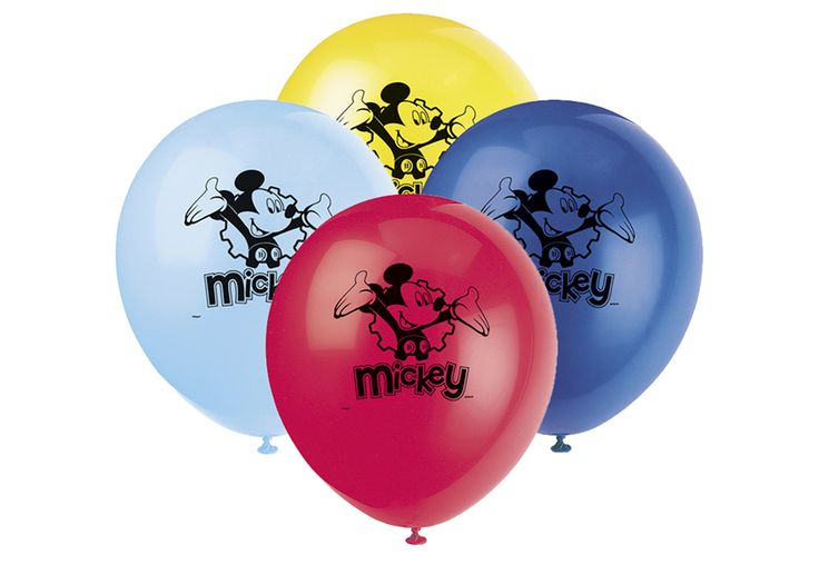 "BALLON 12"" MICKEY MOUSE (8)"