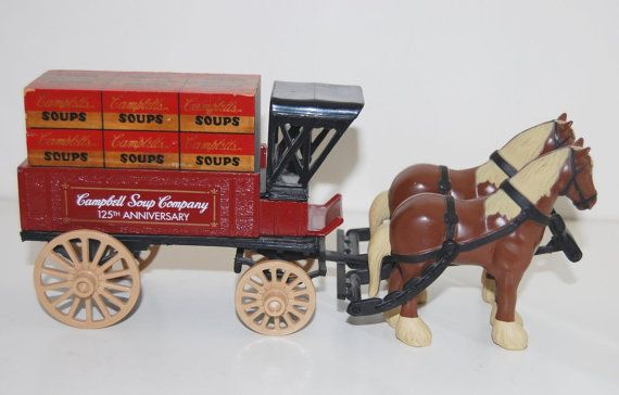 Vintage c.1994 ERTL Campbell Soup Company 125th by BuyfromGroovy