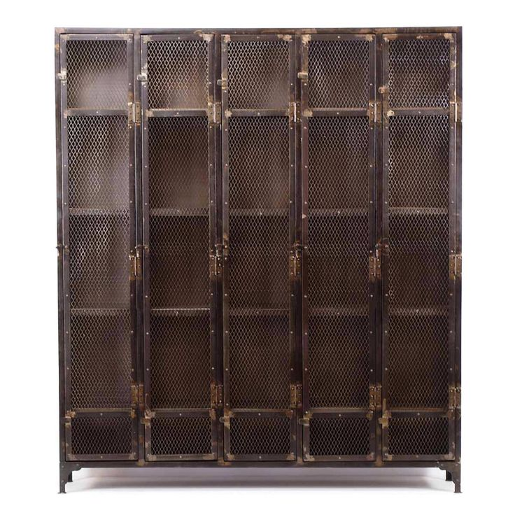 Allentown Locker Cabinet   Industrial   Furniture   Los Angeles   By CRASH  Industrial Supply