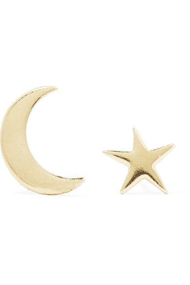 Catbird | Tiny Dancer 14-karat gold earrings | NET-A-PORTER.COM