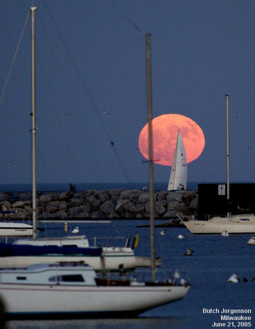 What other full moons are ahead this year for 2015?                 July: Full Buck Moon, July 1, 9:20 p.m. CDT AND a Blue Moon, July 31, 5:43 a.m. CDT August: Full Sturgeon Moon, Aug. 29, 1:35 p.m. CDT September: Full Harvest Moon, Sept. 27, 9:50 p.m. CDT. This will also be the largest full moon of 2015. (The eastern part of the country will get to see a total lunar eclipse as well) October: Full Hunter's Moon, Oct. 27, 7:05 a.m. CDT November: Full Beaver Moon, Nov. 25, 4:44 p.m. CST…