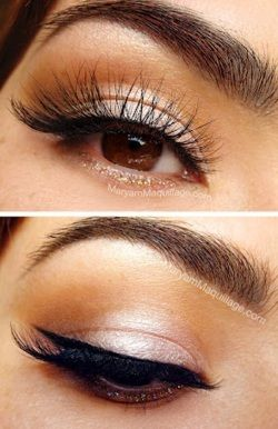 that's the way i do my makeup....without the fake lashes which do look pretty
